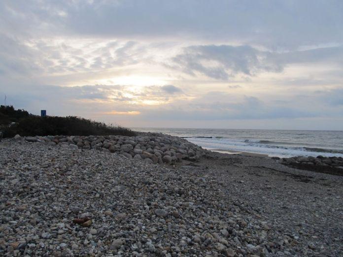 Smuk himmel ved Udsholt Strand