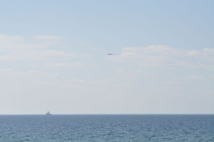 Lancasterflyet over vandet