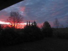Hele himlen farves