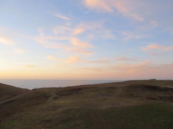 Heatherhill er en åbning mod havet mellem morænebakker af sand og småsten