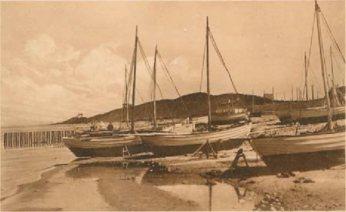 Omkring 1900 var der 10 fiskejoller