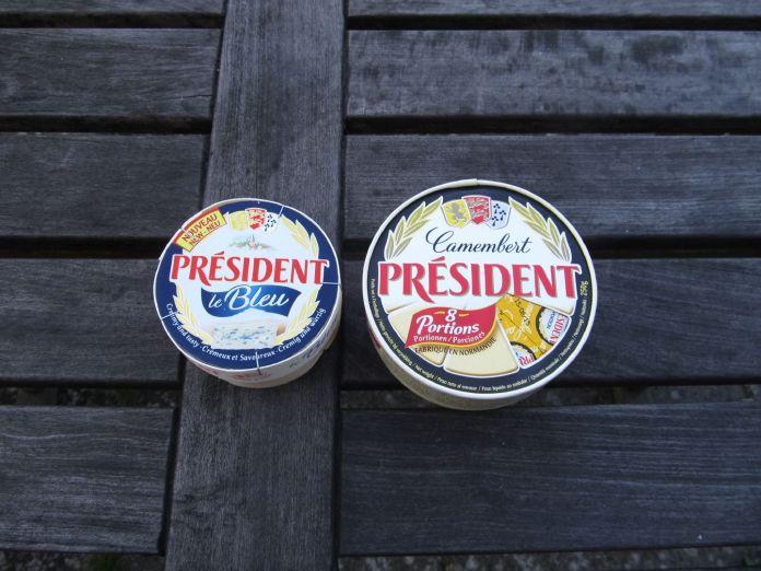 Franske oste - tv. spån-emballage