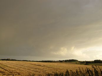 Dramatiske skyer