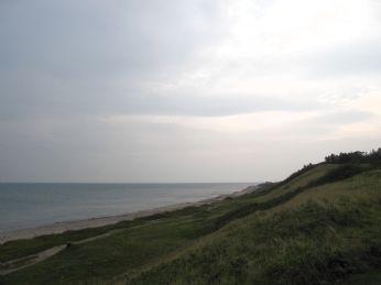Man kan se til Kullen når det er klart vejr - i dag er den totalt usynlig, Svenskekysten