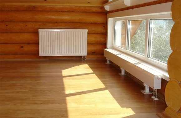 Отопление деревянного дома своими руками схемы – расчёт ...