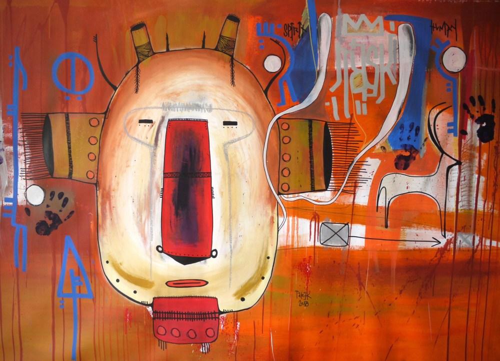 masque africain art africain tarek ben yakhlef cotation drouot art contemporain