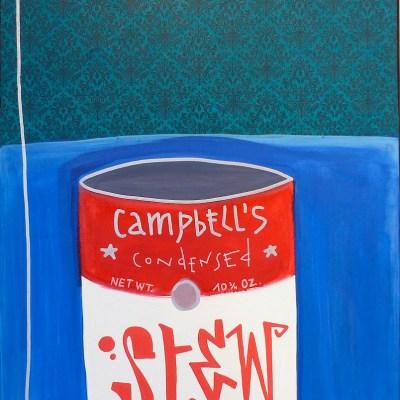 art contemporain pop art campbell's soup cans Tarek Ben Yakhlef