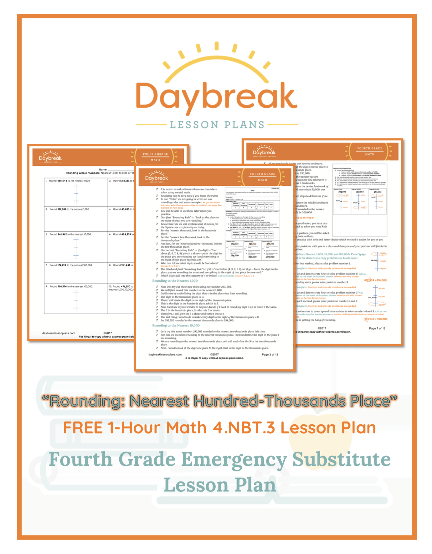 Free 4th Grade Lesson Plans