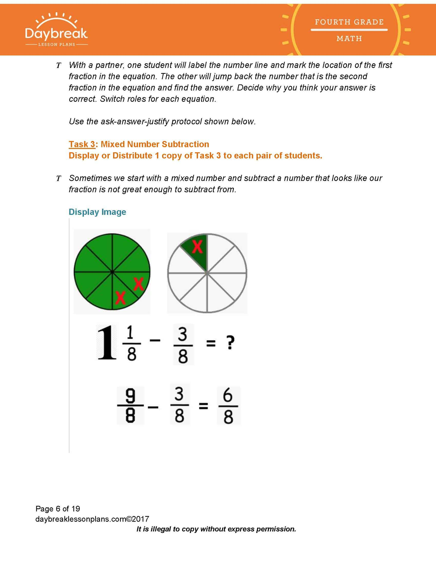 Numbers And Operations Fractions