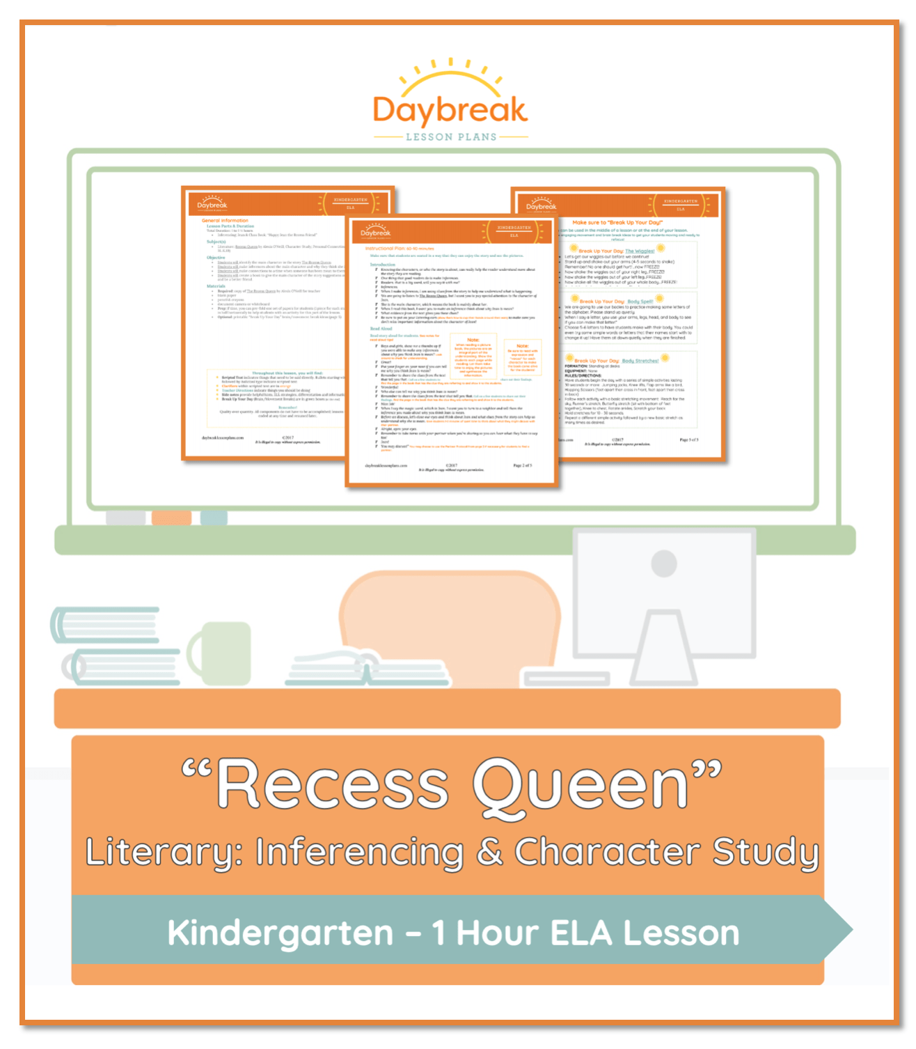 Recess Queen Literary Inferencing And Character Study
