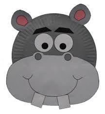 small hippo face
