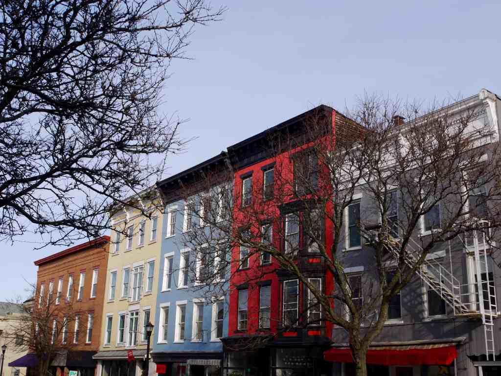 A block in Hudson