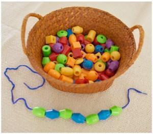 bead lacing