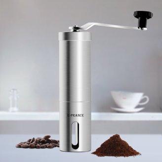 E-PRANCE® 手挽きコーヒーミル セラミック ステンレス コーヒーミル手動 コーヒーメーカー