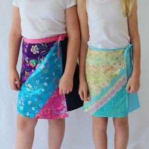 Ruby wrap skirt