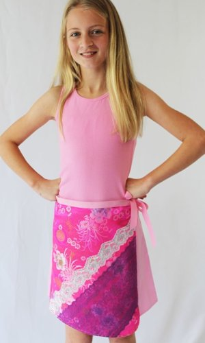 Ruby wrap skirt