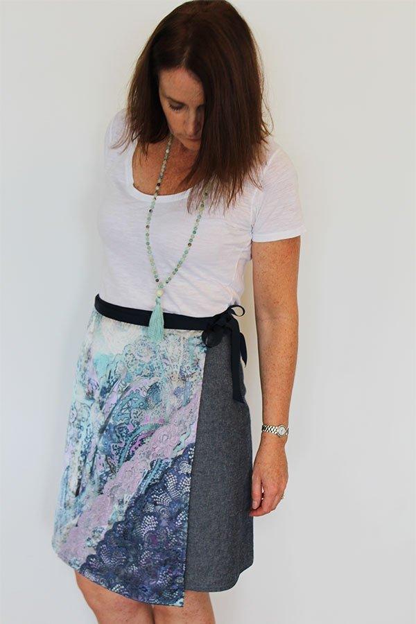 Ruby womens wrap skirt