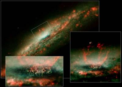 Picture of Heaven by Hubble Telescope In Love with Jesus