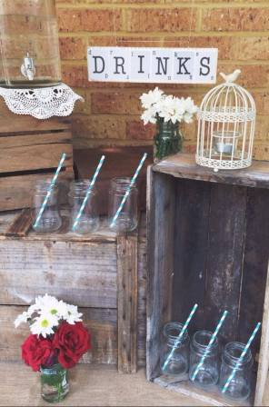 Vintage Wooden Crates $8 – $15. 8 Available