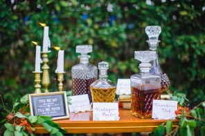 Bohemian Whisky Decanters $7 each. 5 Availble. Photo: Mad Love Nation.