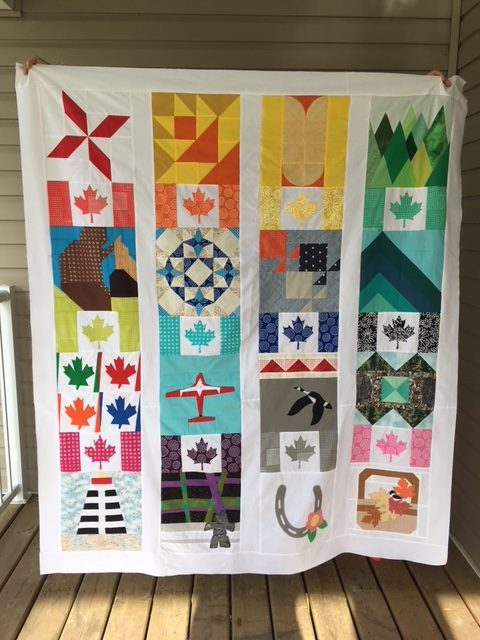 Canadian Summer Quilt Along Quilt