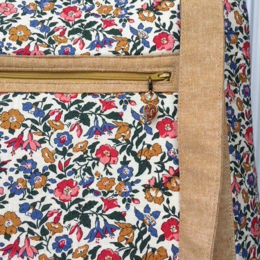 Tudor Bag front zipper