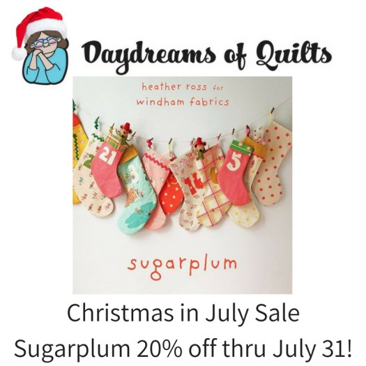 Sugarplum on Sale 20% off thru July 31, 2018