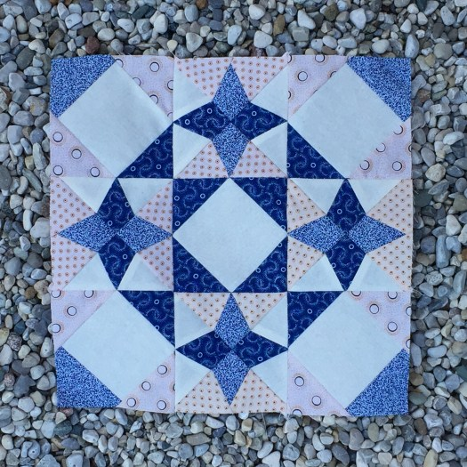 Traditional quilt block