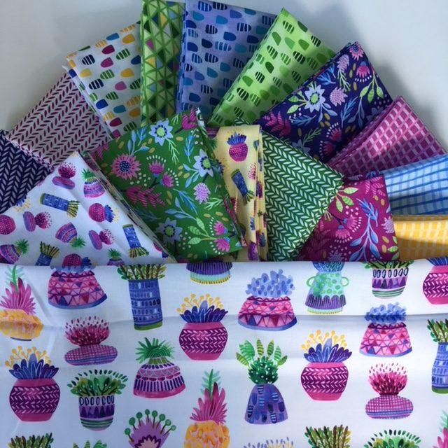 Flourish fabric fat quarter bundle