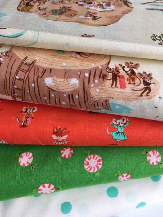 Sugarplum Christmas fabric