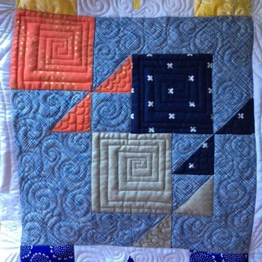 Fish quilt block