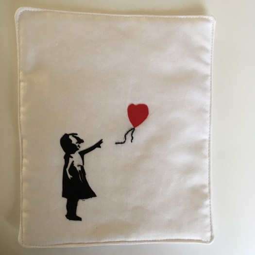 Banksy Mini Quilt