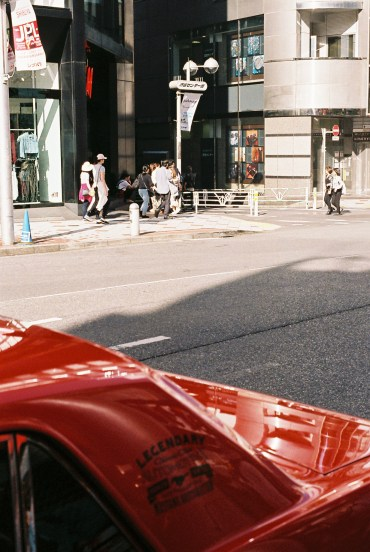 Saul Leiter inspired street photography Tokyo analogue-8