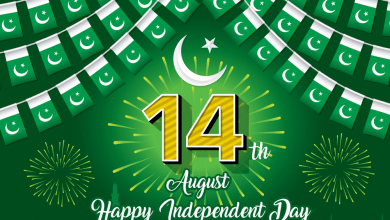 pakistan 14th August Bunting Wallpaper