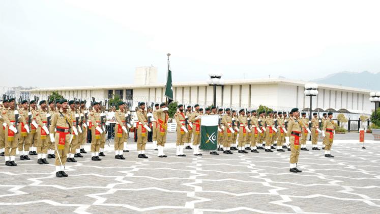 Pakistan Army parade on 23 March Pakistan Day