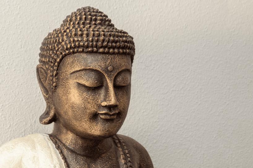 Siddhartha bronze statue
