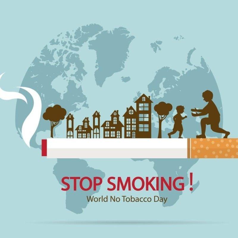 World No Tobacco Day image poster