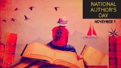 National Author Day November 1