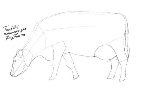 Come Disegnare Una Matita Di Mucca In Più Fasi Imparare A Disegnare