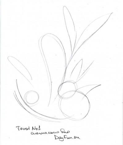 Bagaimana Cara Menggambar Bunga Aster Dengan Pensil Secara