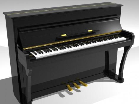 Как нарисовать клавиатуру пианино карандашом поэтапно
