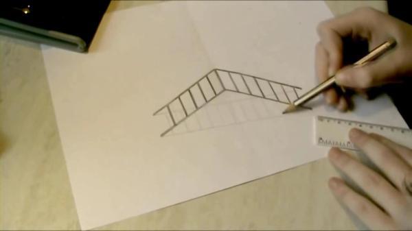 Картинки 3д Рисунок Карандашом Как Нарисовать picpoolru