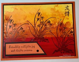 Artistically Asian Stampin Up Card