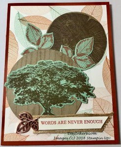 Rooted in Nature Masculine Card