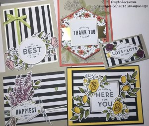 Stampin Blends with the Lots of Happy kit