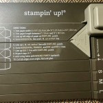 Stampin Up! Gift Bag Punch Board