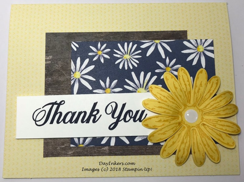Stampin Up Delightful Daisy FMS342