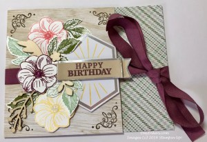 Manly Moments Paper Pumpkin Birthday Card Alternate