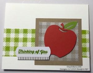 Apple alternate from Picnic Paradise Paper Pumpkin