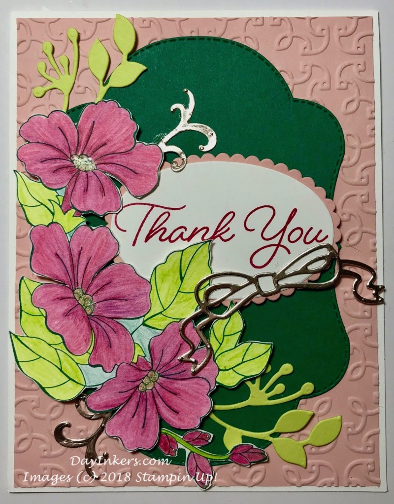 Summer Blended Seasons Card Stampin up